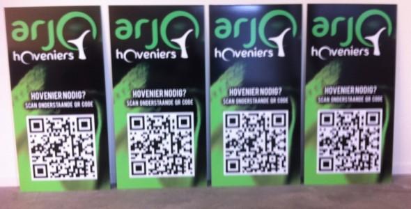 Nieuwe borden Arjo