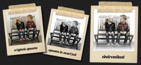 Antiek foto-effect