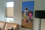 Gratis (vakantie) foto op canvas