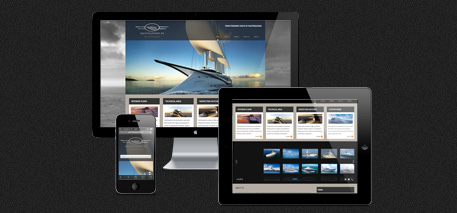 Website met CMS en next-gen fotogallerij
